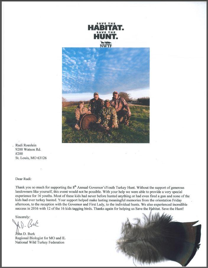 Youth Hunt Letter